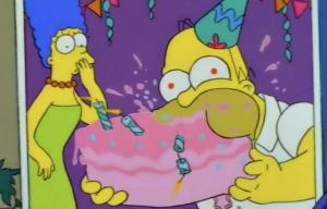 Homer cake